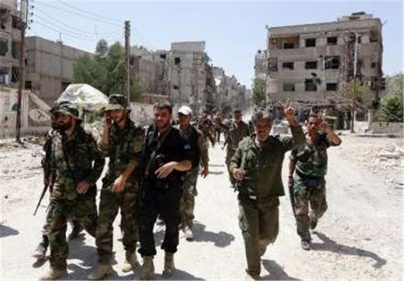 "الجیش السوری یتقدم فی حی ""جوبر"" والقضاء على عشرات الإرهابیین فی ""دوما"" بریف دمشق"