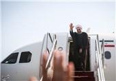 روحانی عازم عراق شد