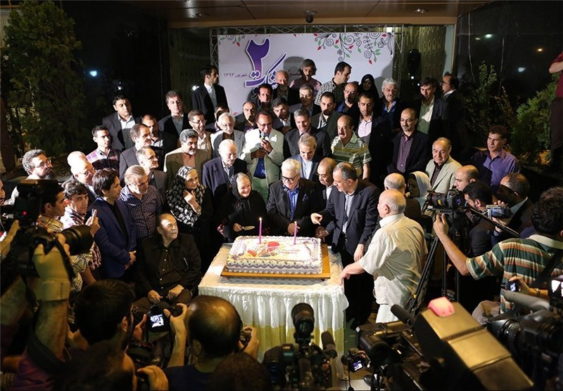رکورددار برگزاری جشن تولد هستیم / ششمین سال تاسیس موسسه هنرمندانپیشکسوت