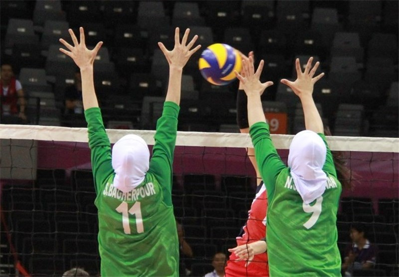 Asian Girls' U-17 Volleyball Championship: Iran Loses to S. Korea