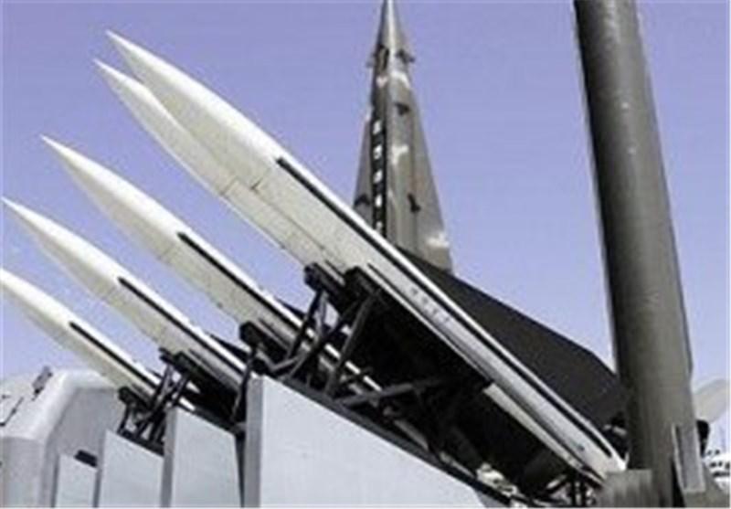 مقابله پدافند هوایی سوریه با حمله موشکی به دمشق+فیلم