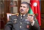 وزیر الدفاع الأذربیجانی یبدأ زیارة الى طهران
