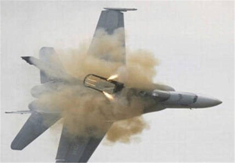 """الدفاعات الجویة الیمنیة تسقط طائرة """"تورنیدو"""" تابعة للعدوان فی صعدة"""