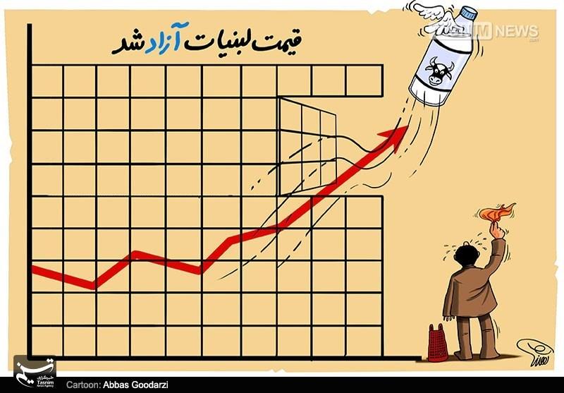 شیر امسال 3 مرتبه گران شد + اسناد