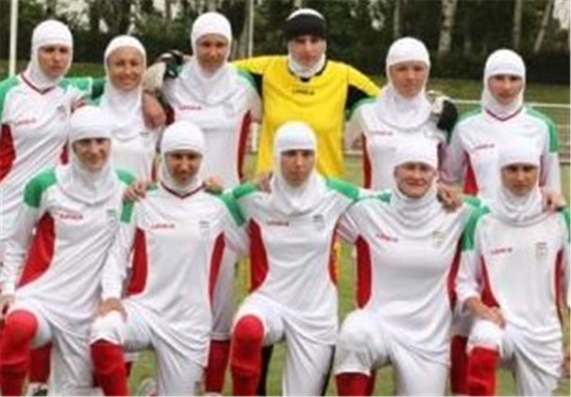 Iranian Women Moves Up 75 Places in FIFA World Rankings