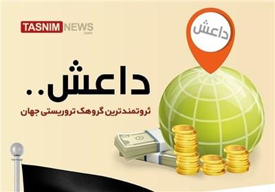 اینفوگرافیک/ داعش ثروتمندترین گروهک تروریستی جهان