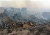 آتش گرفتن تریلی ترکیه ای در میامی