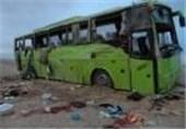 تصادف کامیون با اتوبوس مسافربری در استان هرمزگان 4 فوتی برجای گذاشت