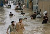 بارش بیسابقه بارانهای موسمی در کراچی رکورد 90 ساله را شکست