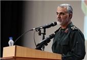 سرلشکر سلیمانی: آمریکا مجبور به عقبنشینی از تمام اهدافش شده/ایران پیروزِ تمام صحنههای منطقه است/نتیجه جنگ یمن، تثبیت قدرت انصارالله است