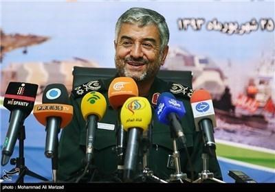 المؤتمر الصحفی للقائد العام لقوات حرس الثورة الاسلامیة