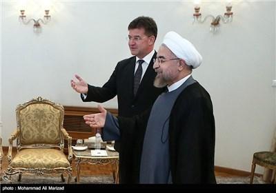 رئیس الجمهوریة یستقبل وزیر الخارجیة السلوفاکی
