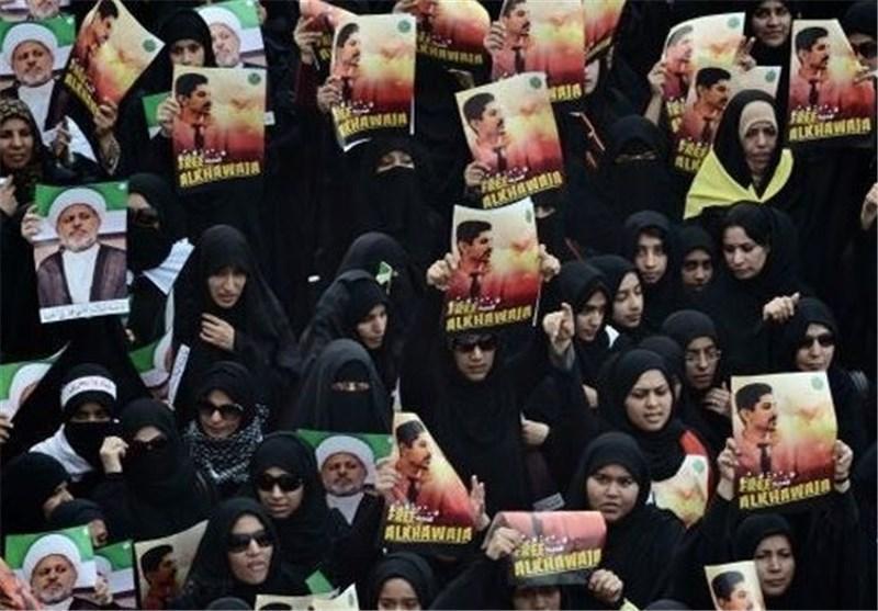 """تظاهرات """"مقاومة خلف القضبان"""" تضامناً مع سجناء البحرین"""