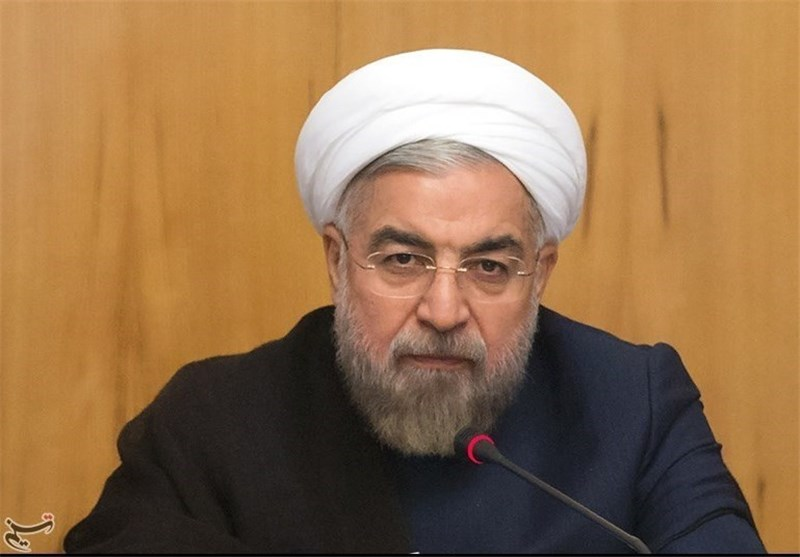 "Rouhani Sees Oil Price Drop as ""A Political Plot"""