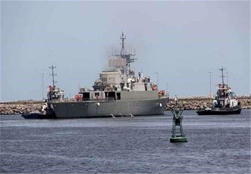 البحریة الایرانیة تحبط هجوم قراصنة علی سفینة حاویات صینیة