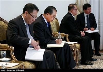 رئیس الجمهوریة یستقبل وزیر خارجیة کوریا الشمالیة