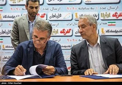 تفاهمنامه سه جانبه فدراسیون فوتبال، وزارت ورزش و کیروش + متن