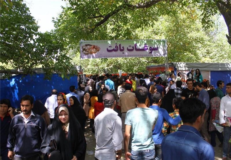 دومین جشنواره گردو در شهرستان بافت برگزار شد + تصاویر