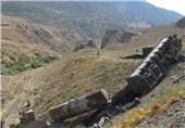 فاجعه زیست محیطی در لرستان/واژگونی قطار, 120 هزار قطعه ماهی را نابود کرد