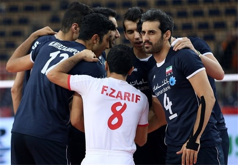 Iran Volleyball Team Sweeps Hong Kong in Asiad