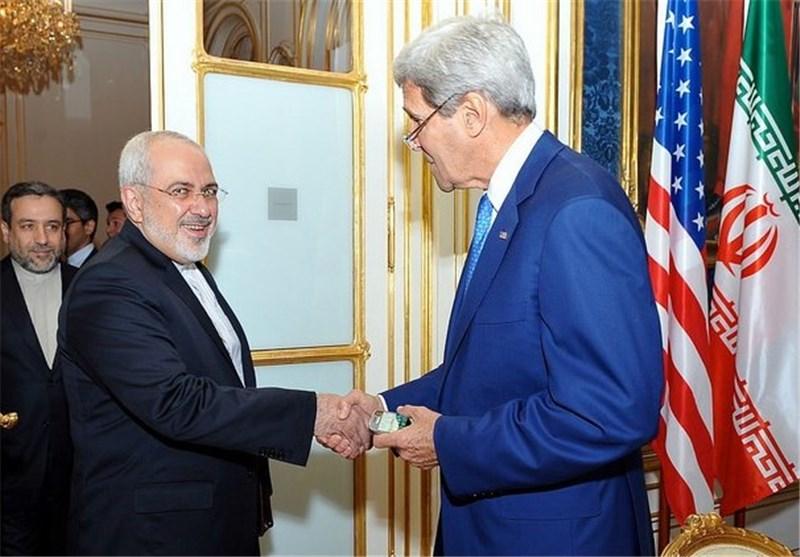 وزرای خارجه ایران و آمریکا در پاریس دیدار کردند