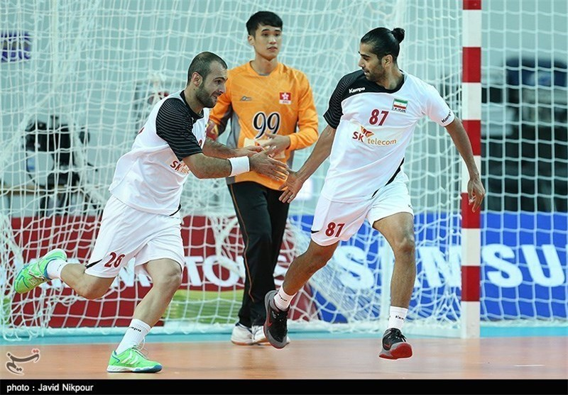 Iran Handball Team Defeats Italy in Friendly