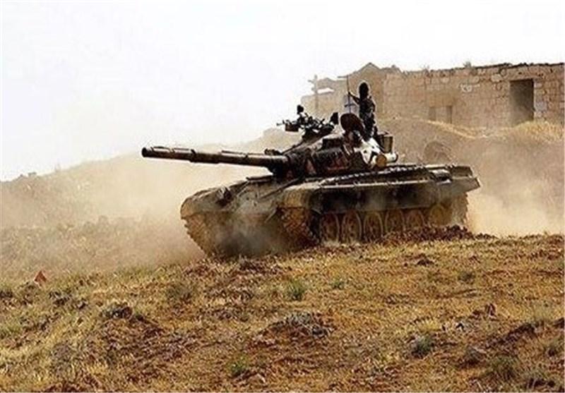 """الجیش السوری یتقدم فی مدینة """"عدرا"""" بریف دمشق"""