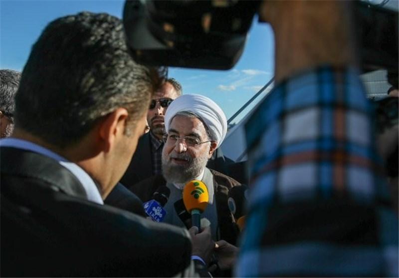 Iran's President Makes Landmark Visit to Azerbaijan