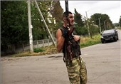 Fighting Flares again in Ukraine's East
