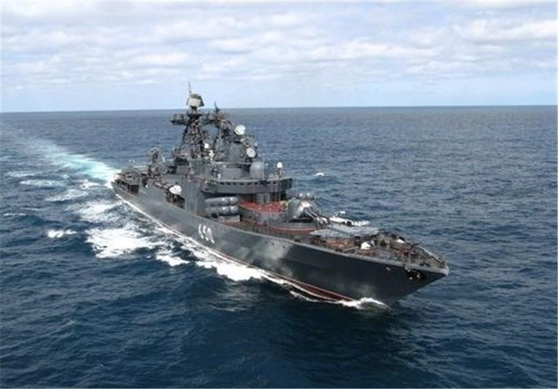 """روسیا ترسل أسرع سفینة حربیة إلى الساحل السوری تزامنا مع القصف الجوی الأمریکی لـ """"داعش"""""""