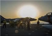 داعش کیخلاف نام نہاد امریکی اتحاد کے شامی فوجی اڈوں پر وقتا فوقتا فضائی حملے
