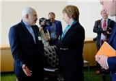 دیدار ظریف و اشتون در کنفرانس امنیتی مونیخ+عکس