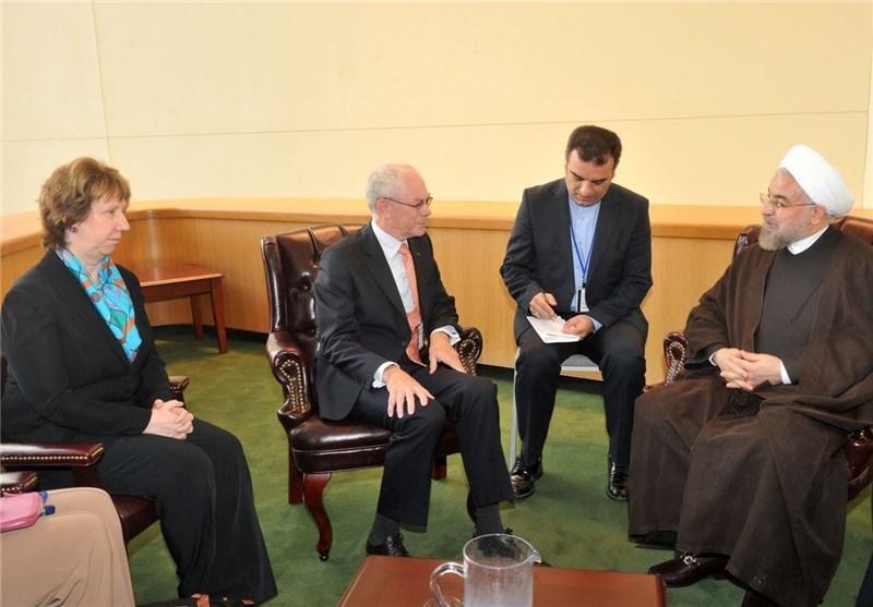 روحانی: الموضوع النووی یحل بالمفاوضات