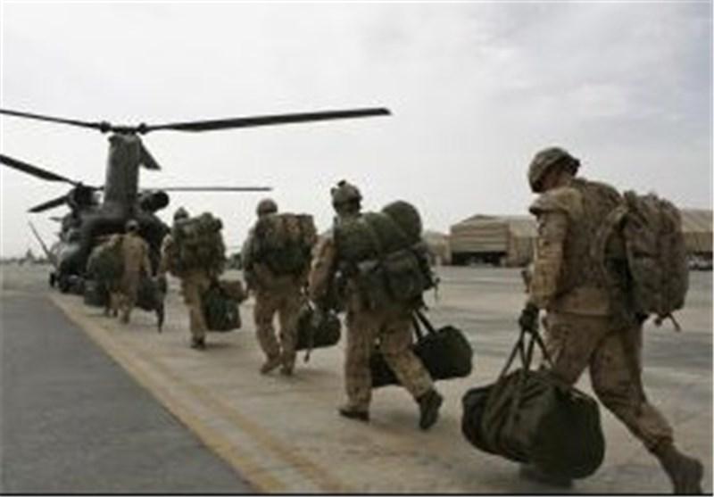 خروج نظامیان آمریکایی