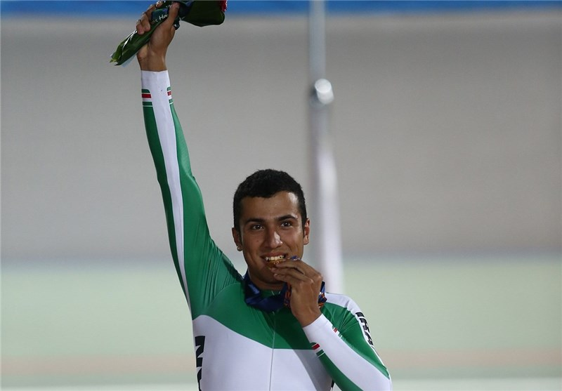 Iran's Cyclist Mohammad Daneshvar Clinches Gold in Asiad