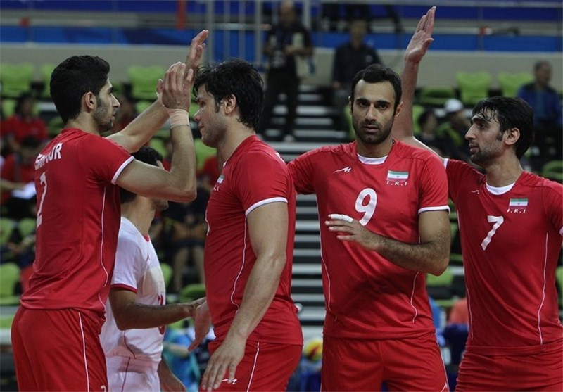 Iran Volleyball Team Sweeps Qatar at Asiad