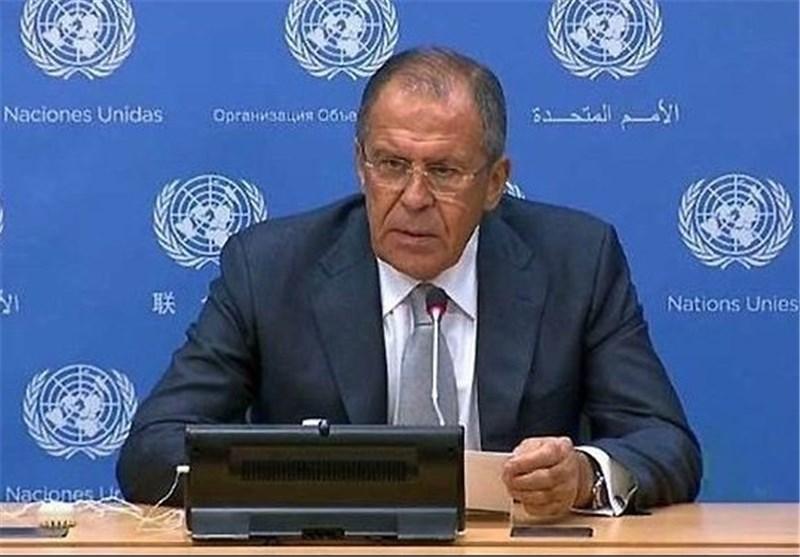 لافروف : سنعمل بالتعاون مع شرکائنا بمجلس الأمن على إغلاق قنوات تمویل الإرهابیین
