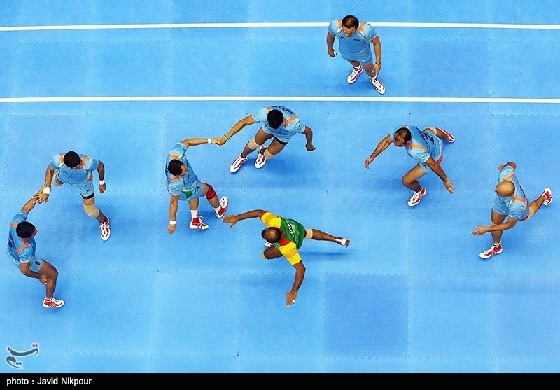 Iran Comes 3rd at Asian Kabaddi Championship