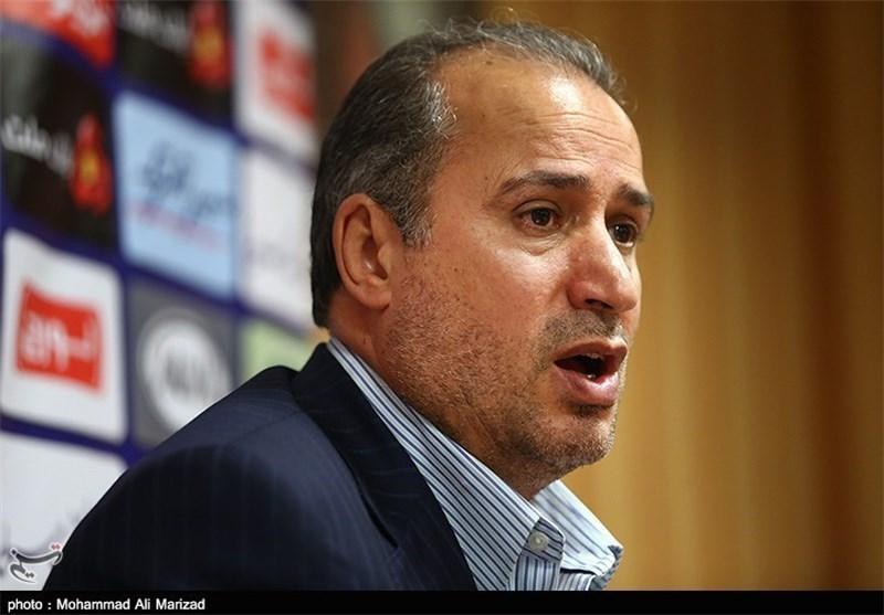 تاج: سازمان لیگ هیچکاری نمیتواند برای قهرمانی یک تیم انجام دهد