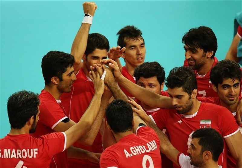 Asian Games: Iran Volleyball Team into Semis