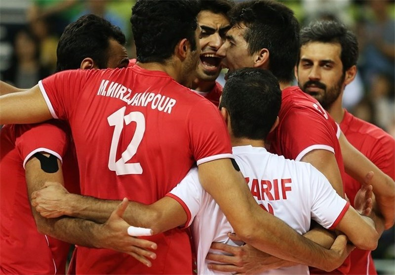 Iran Volleyball Team into Asian Games Final
