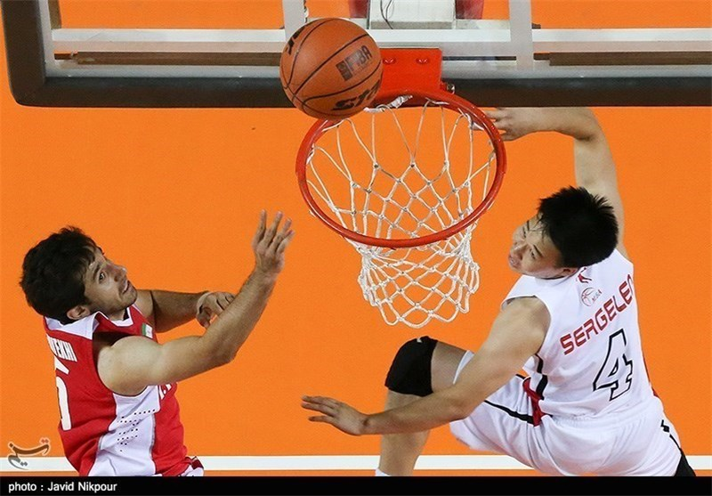 Iran Basketball Team Wins Silver in Asian Games