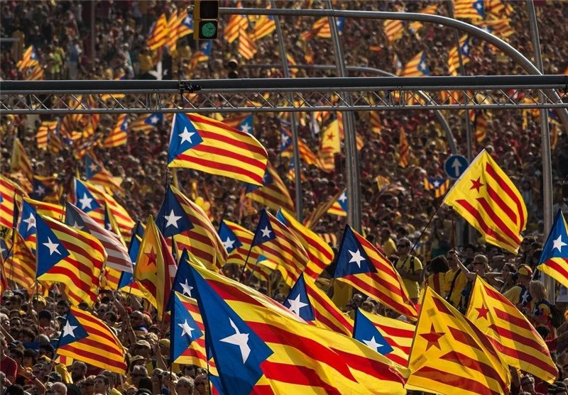 Hundreds Rally in Brussels for Catalan Independence