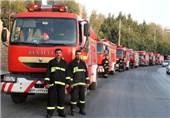 اقدامات آتشنشانی برای ایمنی سوگواران ایام محرم