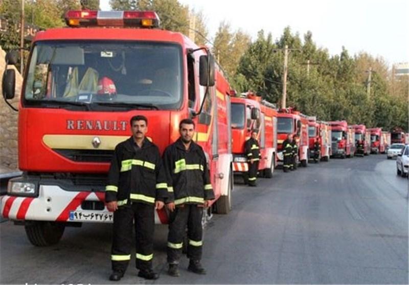 روز آتش نشان شیراز 1