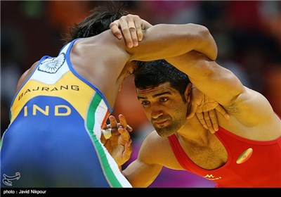 بازیهای آسیایی اینچئون ۲۰۱۴-کشتی اسماعیل پور و اکبری