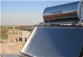 آبگرمکن خورشیدی در اختیار روستائیان شهرستان دلفان قرار گرفت