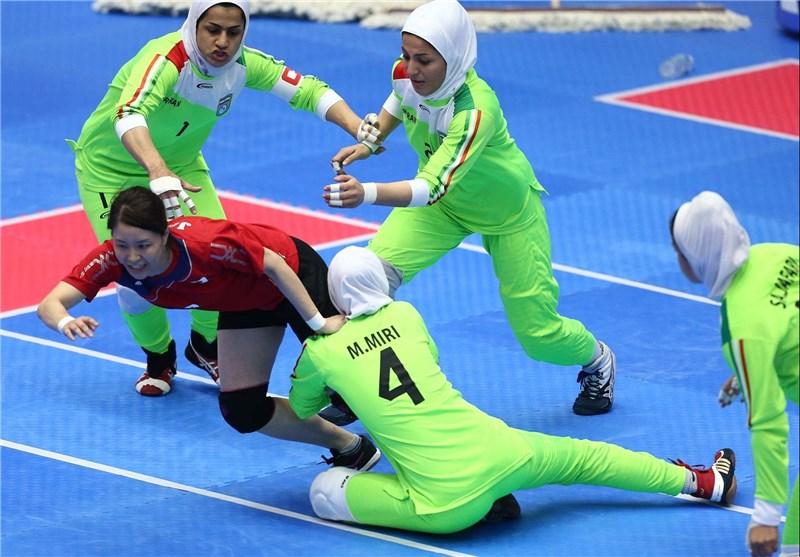 Asian Games: Iranian Women's Team Storms into Kabaddi Final
