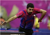 Noshad Alamiyan Loses to World No 1 in World Table Tennis Championships