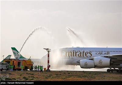 World's Largest Passenger Plane Lands in Iran for First Time